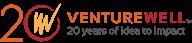 VW script in circle logo. VentureWell