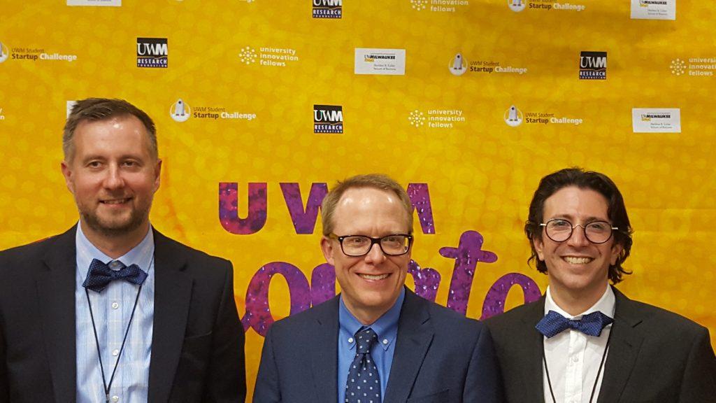 From left: Ilya Avdeev, Brian Thompson, Nathaniel Stern