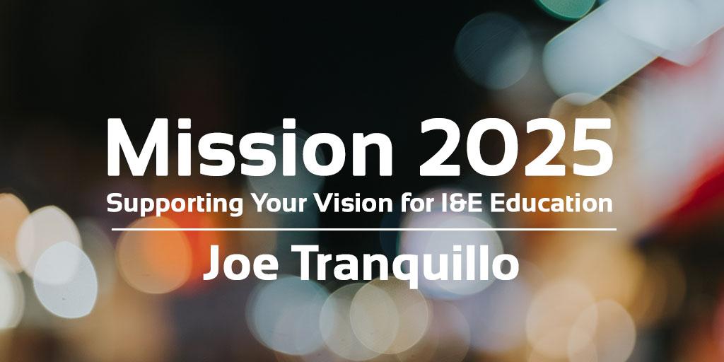 Joe Tranquillo Mission 2025