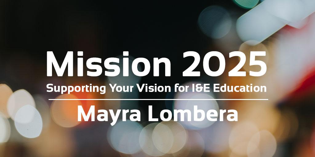 mission 2025 mayra lombera