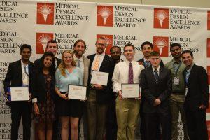 2016 BMEidea winning teams at awards ceremony