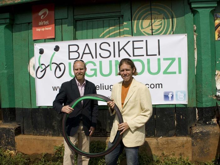 E-Team Baisikeli Ugunduzi reinvents the wheel